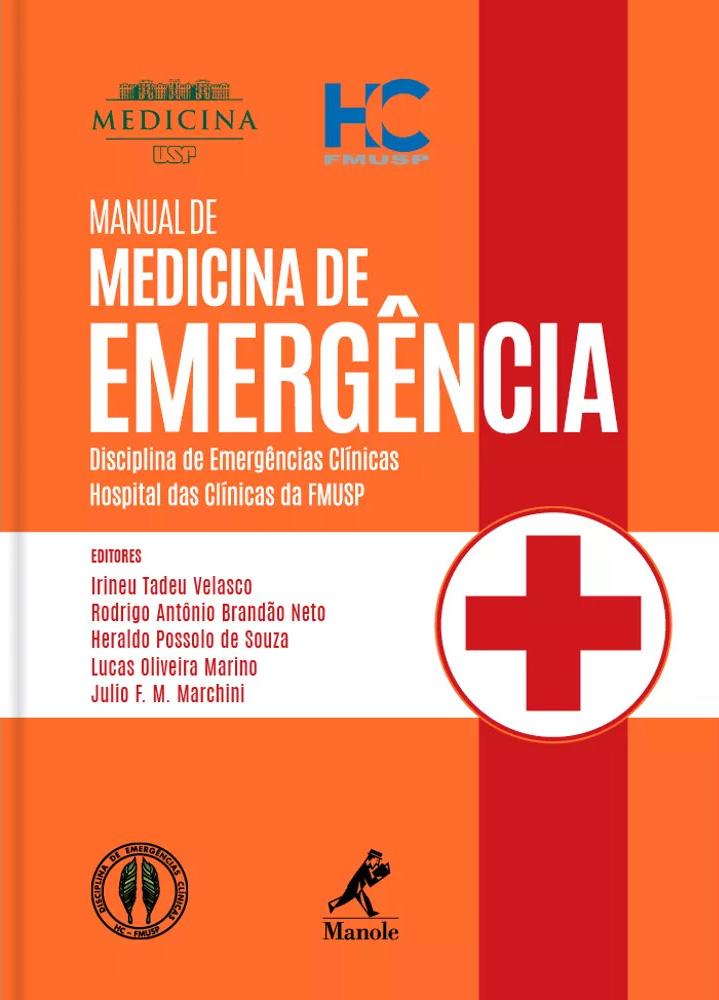 Livros para o Plantão - Manual Medicina de Emergência HC-FMUSP